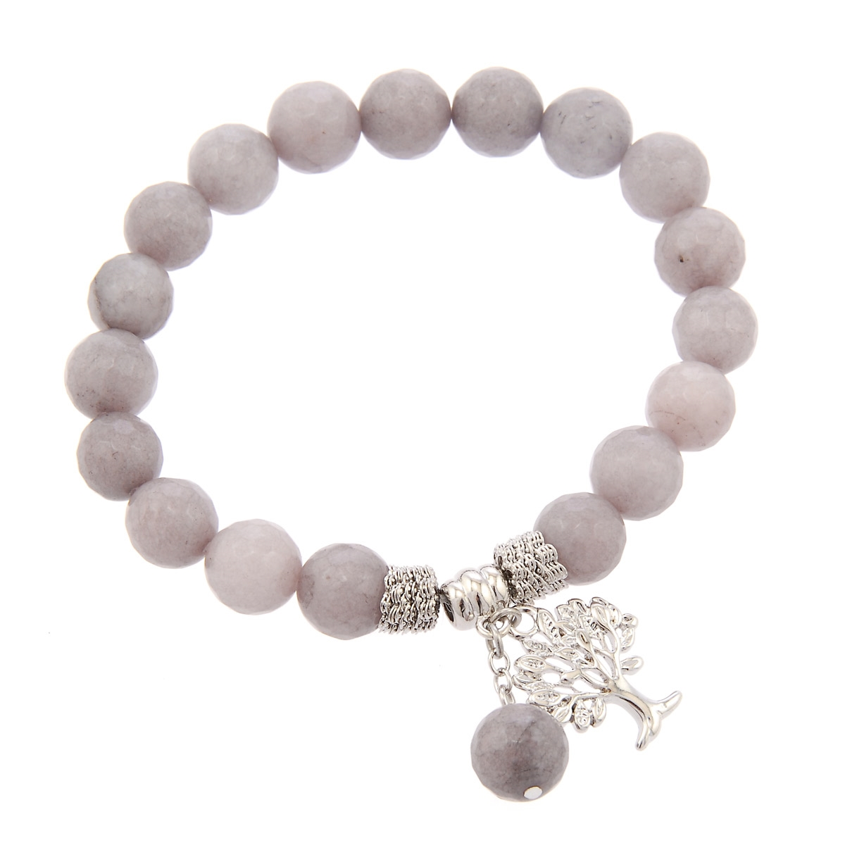 Grey/Silver Beads
